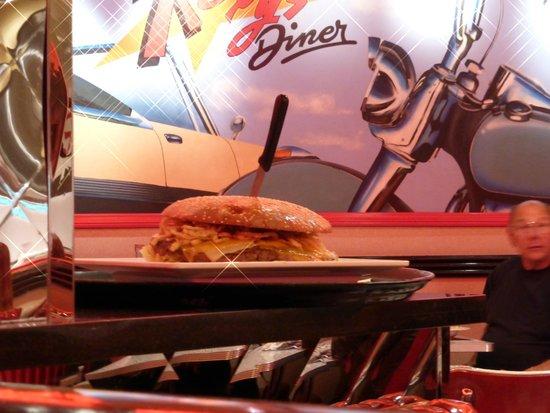 Roxy's Diner : Le plus gros burger que j'ai jamais vu !