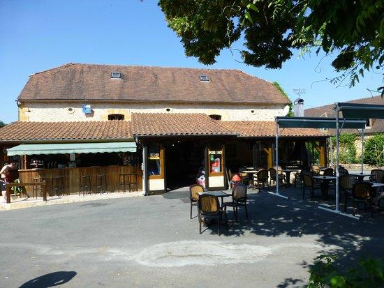Les Grottes de Roffy : Bar/restaurant