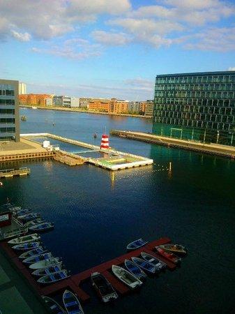 Copenhagen Island Hotel: View from room