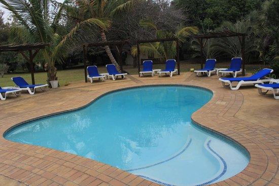 Emdoneni Lodge: Den Pool konnten wir wegen Zeitmangels nicht testen