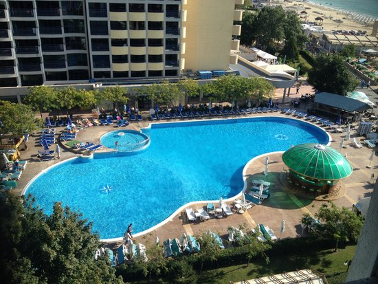Next doors pool picture of palace hotel sunny beach - Sunny beach pools ...