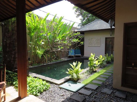 Ajanta Villas: Villa with swimmingpool