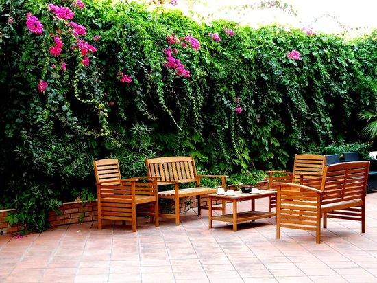 Nice spot for breakfast bild fr n hotel alexander - Hotel alexander giardini naxos ...