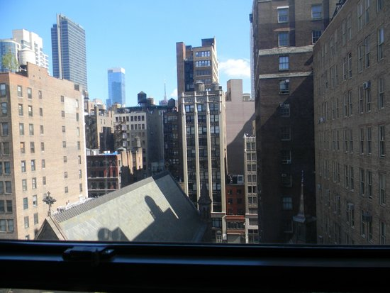 Heritage Hotel New York City: View from our room 1002