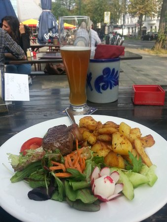 Eigelstein: rump steak with beer