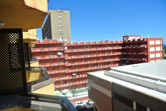 Aparthotel Noelia Playa : vistas desde la habitación 502