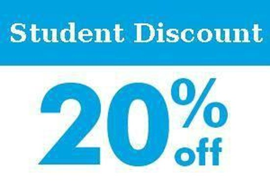 ed17f3a7a188 Show your student ID for a 20% discount off food! - Picture of Moon ...