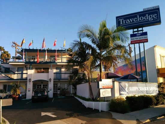 La Jolla Beach Travelodge: 外観