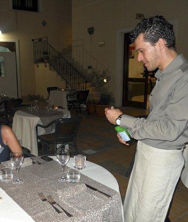 Zingaro Hotel: Il responsabile di sala, preparato e gentile
