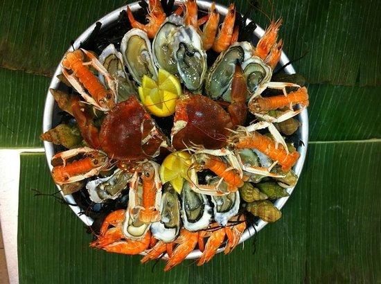 Le Carrelet : plateau fruits de mer
