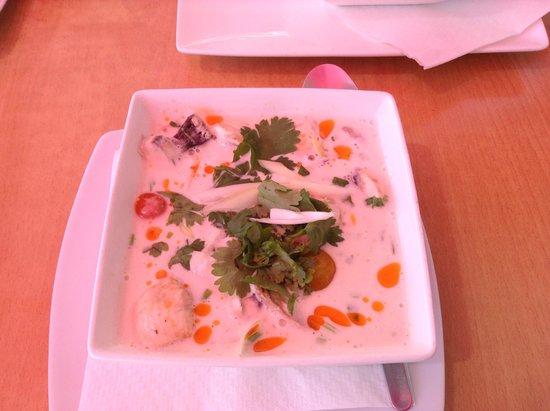 Tapas Plaza: Thia chiken soup
