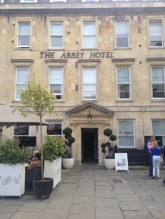 The Abbey Hotel: Front view