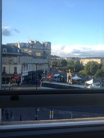 The Abbey Hotel : View from room window