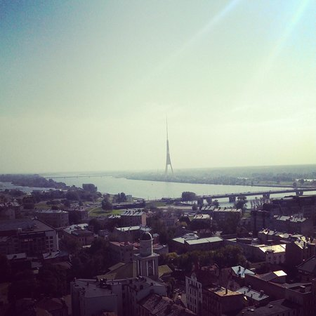 Panorama Riga Observation Deck: панорама