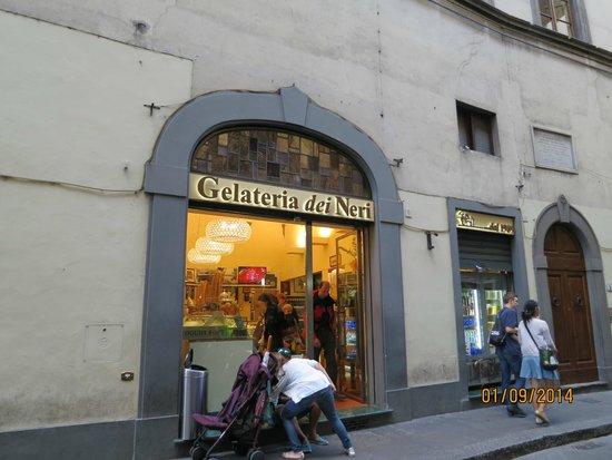 Gelateria dei Neri: Внешний вид кафе