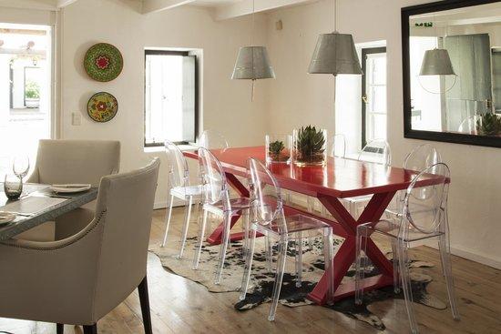 Nguni: Interior View ofRestaurant Leading onto Veranda
