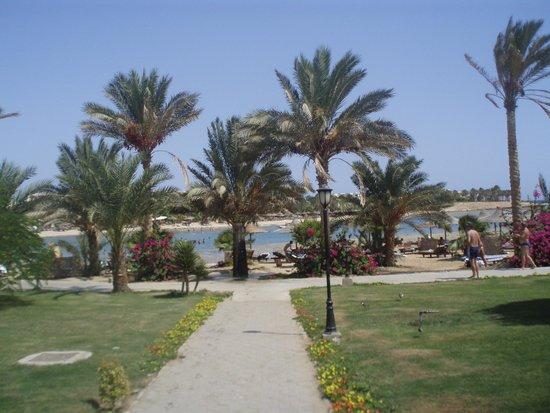 Brayka Bay Reef Resort: дорога к пляжу