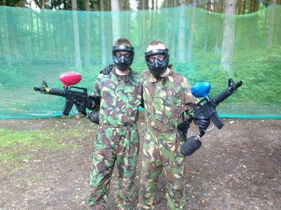 ‪Skirmish Paintball Games Norwich‬