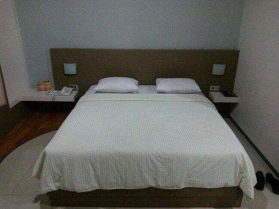 Bukit Indah Lestari Hotel : Single bed bisnis