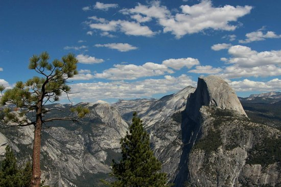 Half Dome from top of Sentinel Dome