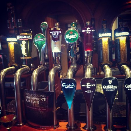 Kealys of Cloghran: Great draught beer selection