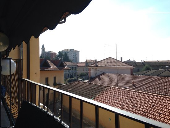 Hotel Sempione: View from the little terrace