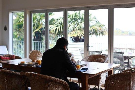 Heartsong Retreat: Breakfast @ the main house
