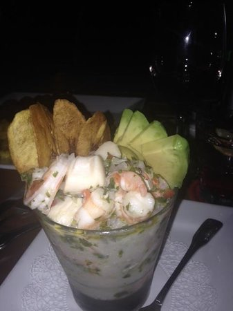 Dive Bar Restaurant : Ceviche