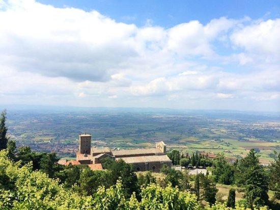 Vy från Fortezza di Girifalco!