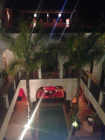 Riad Pachavana: view from top floor
