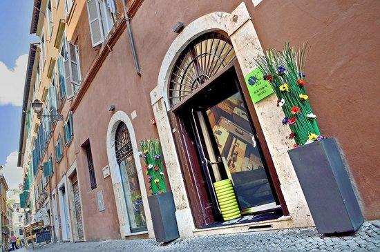 Navona Colors Hotel: entrance
