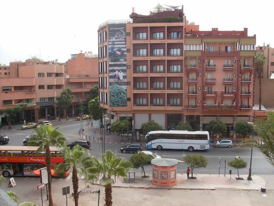 Diwane Hotel : view from window
