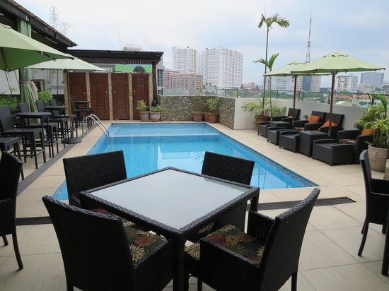 The Cocoon Boutique Hotel: Rooftop terrace 1