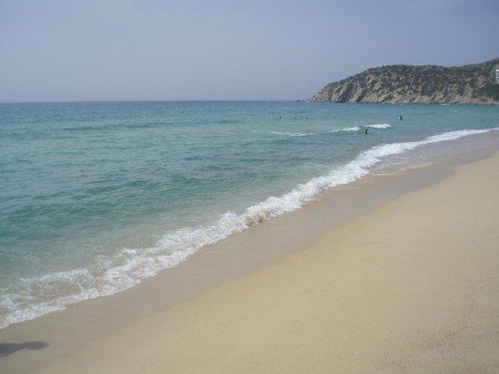 Sinnai, Italie : Spiaggia di Solanas