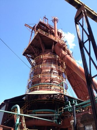 Sloss Furnaces National Historic Landmark: View on tour
