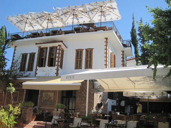 Terrace cafe picture of terrace ice cafe antalya for Terrace 33 menu