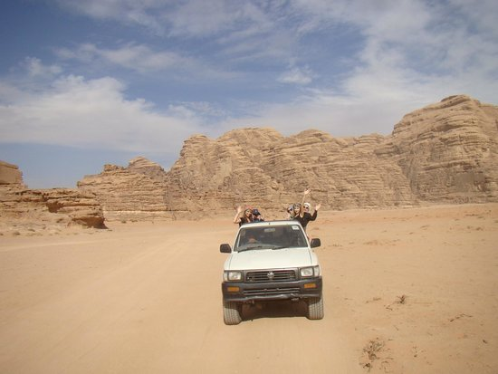 Wadi Araba Desert: Jeep Safari