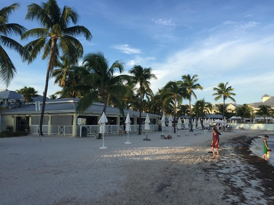 Southernmost Beach Cafe: View of Restaurant from beach