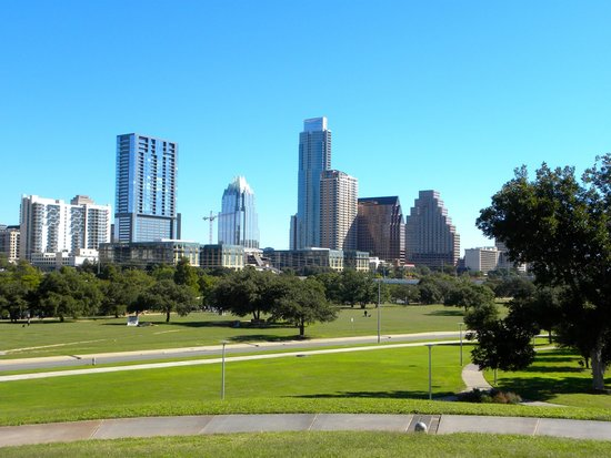 Segway Nation: View of downtown from Auditorium Shores.