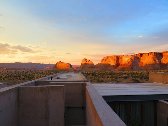 Amangiri: View from room roof terrace