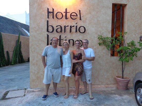 Barrio Latino Hotel : fachada