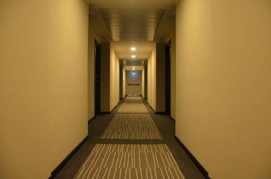 Grand Hotel Kinshasa : Couloir