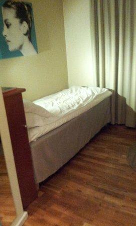Thon Hotel Terminus : Il letto