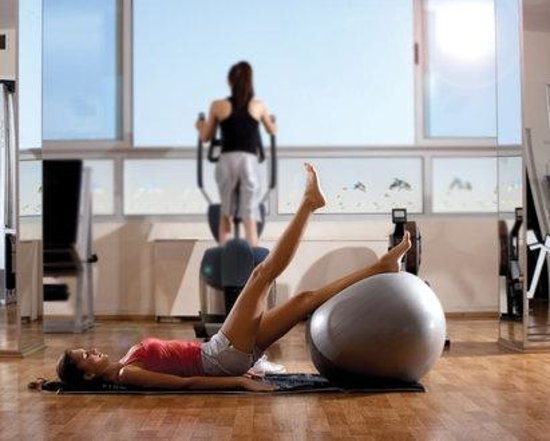 Altin Yunus Resort & Thermal Hotel: Fitness Keyfi