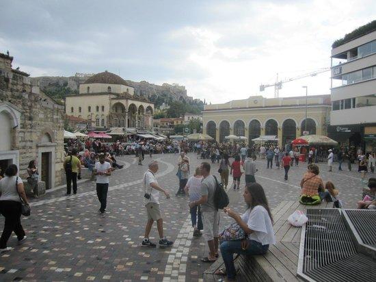 Monastiraki: Lively square!