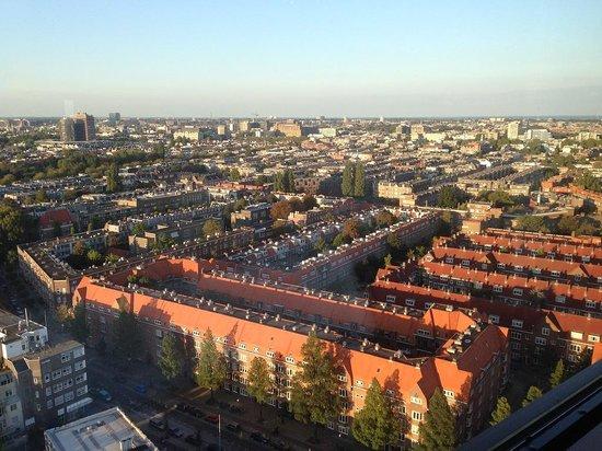 Hotel Okura Amsterdam : View from Ciel Bleu