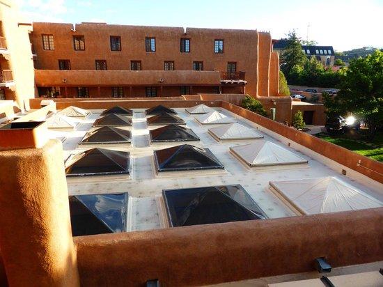 Inn and Spa at Loretto: Balcony vista 2