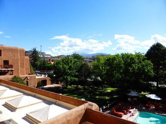 Inn and Spa at Loretto: Balcony vista 3