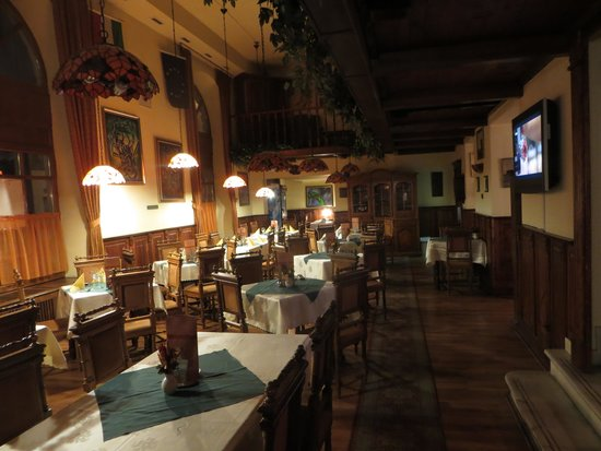 City Hotel Unio: Dining room