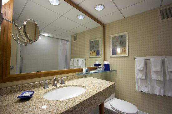 Crowne Plaza San Francisco Airport: Standard Bathroom Vanity